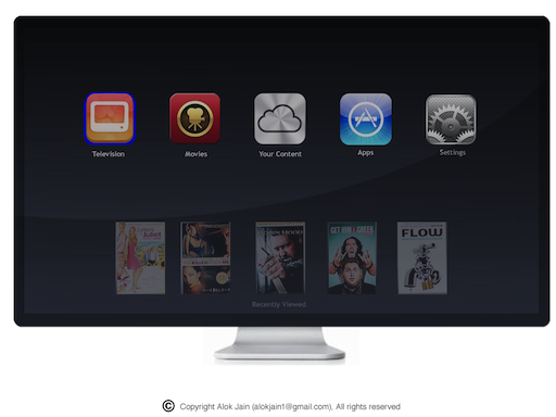 2 main menu apple tv design