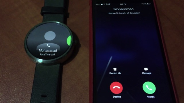Android Wear Can Accept Incoming iPhone Calls with a Tweak