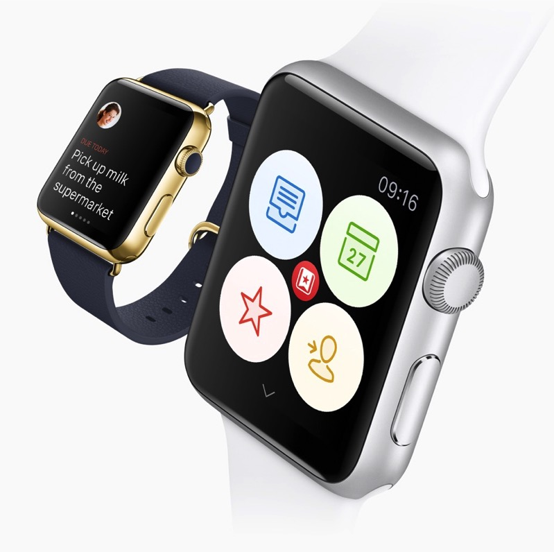 Apple watch wunderlist 2