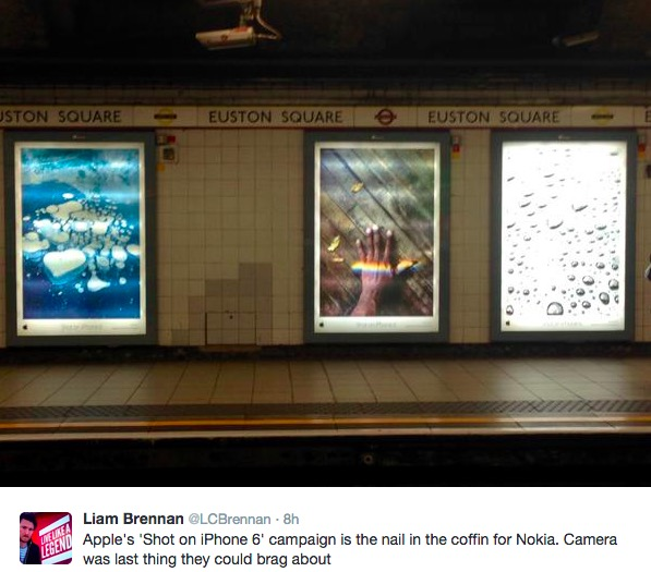 Track His Phone >> Apple's 'Shot on iPhone 6' Global Billboard Campaign Reaches Toronto [PIC] | iPhone in Canada Blog