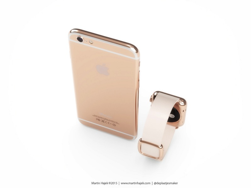 Rose gold iphone 6 2