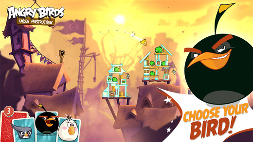 Angry birds pigstruction