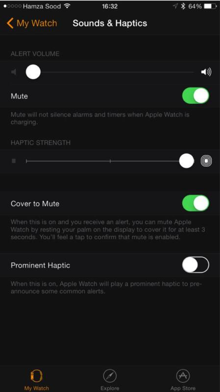 Apple watch companion app 3