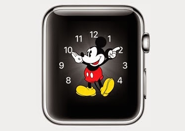 Mickey Mouse Face Apple Watch