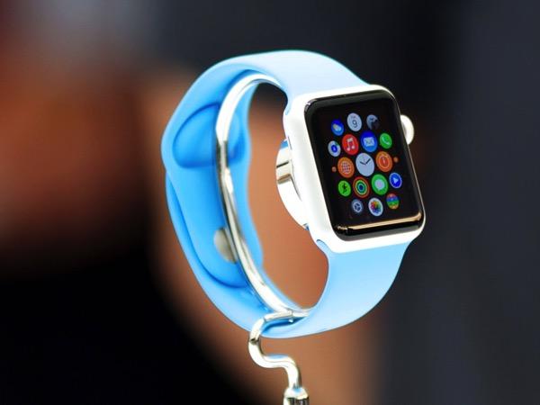 Apple watch blue home screen hero