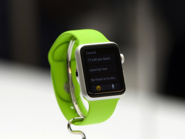 Apple watch green call you back demo