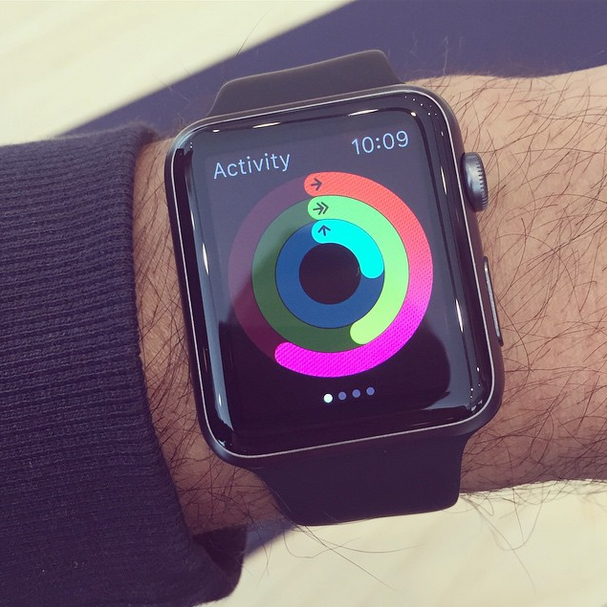 apple watch space grey
