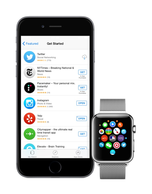 Apple watch app store 2