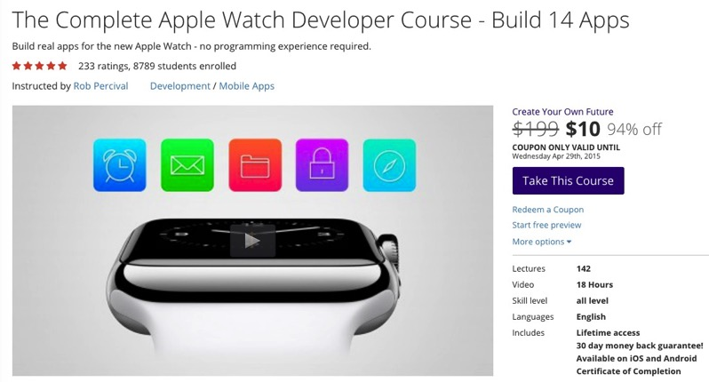 Udemy Sale: 10,000+ Courses for $10 USD Each, Includes Apple