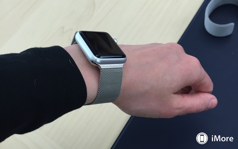 Apple watch sport milanese sleeve 0