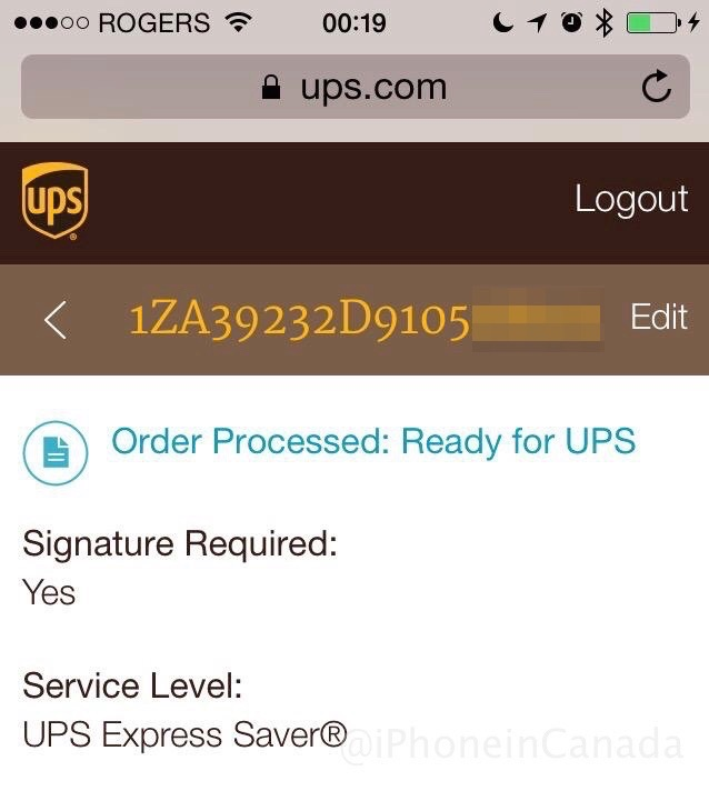 First Apple Watch Preorders in Canada Shipping as UPS