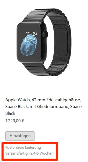 Apple watch dispatch