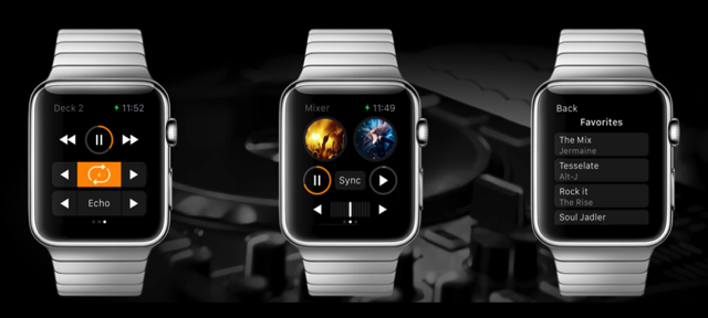 Djay2 apple watch