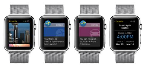 Expedia apple watch