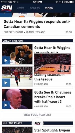 New sportsnet