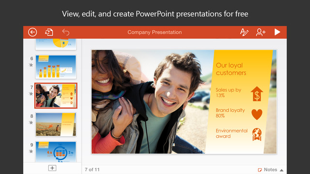 Powerpoint apple watch