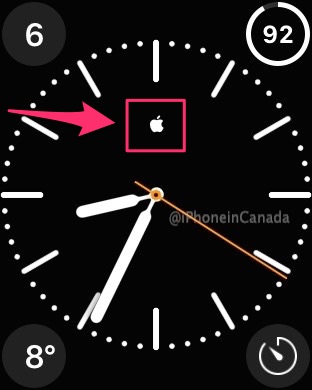 How To Add Apple Logo To Apple Watch Clock Face Guide Iphone In Canada Blog