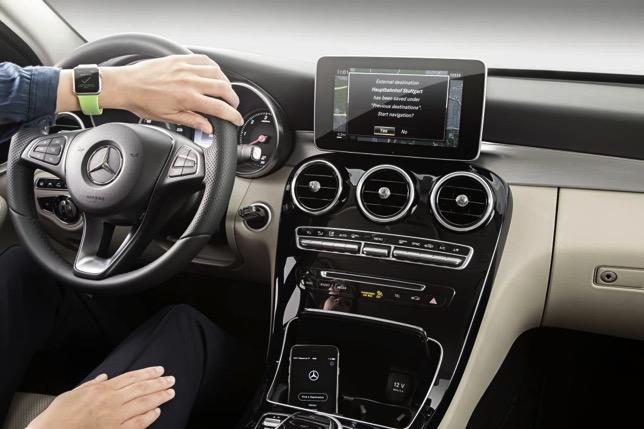 Mercedes benz apple watch