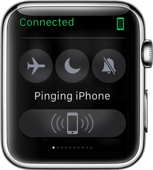 Watch ping iphone6 ios8