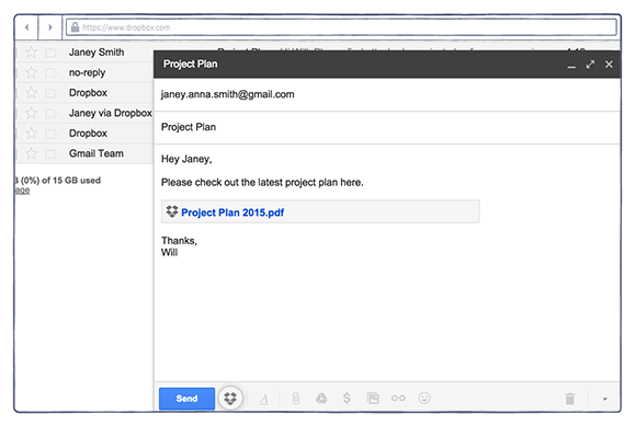 Gmail extension