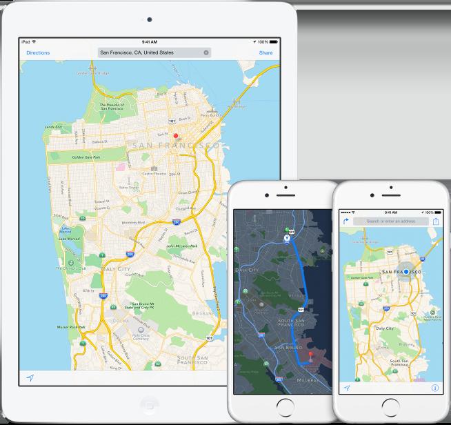 iOS 8_Maps_1