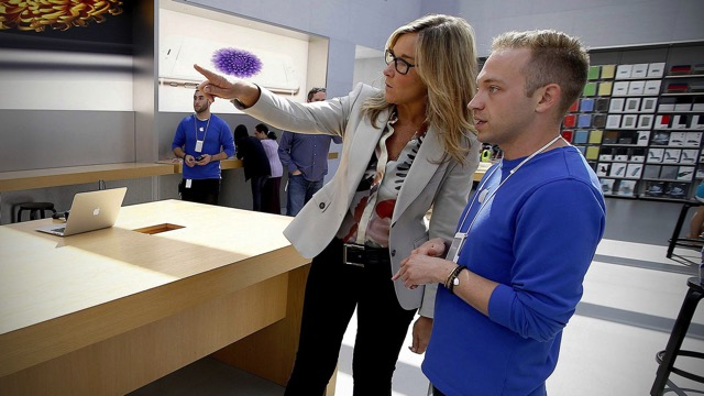 Angela ahrendts apple store cover