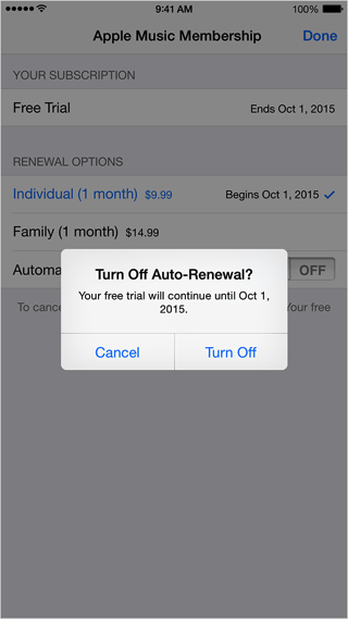 how to turn off music on iphone how to turn apple automatic renewal manage 20399