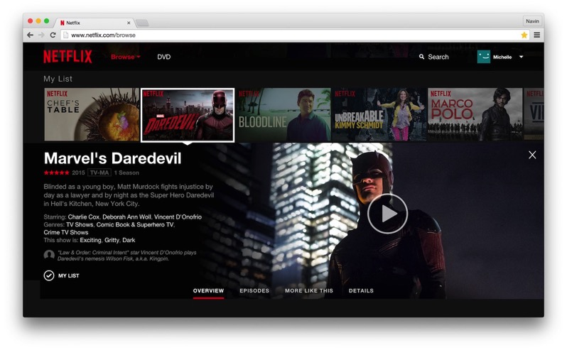New Netflix Website EN
