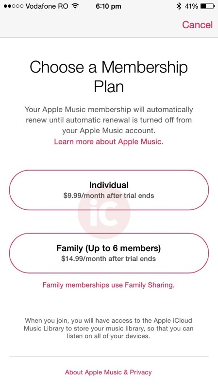 Apple music pricing canada