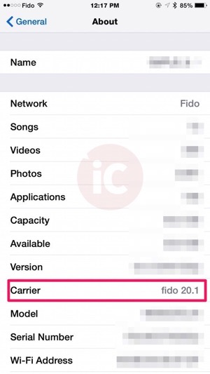 what is carrier settings update on iphone fido releases 20 1 carrier settings update for some iphone 8036