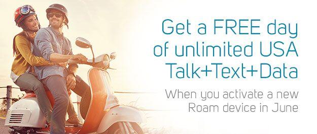 Roam mobility promo