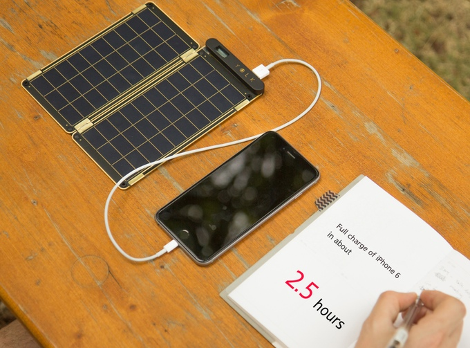 The World's Thinnest Solar Panel Can Charge Your iPhone On The Go