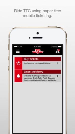 Ttc iphone app