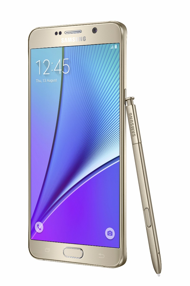 Galaxy-Note5_right-with-spen_Gold-Platinum