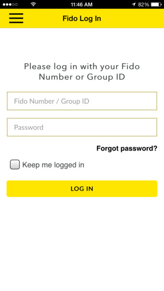 Fido update group id