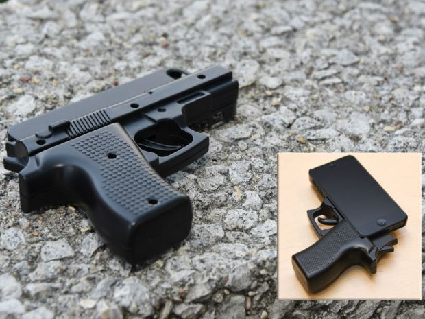 Gun replica phone cases 20150812