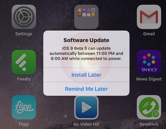 Ios 9 software updates
