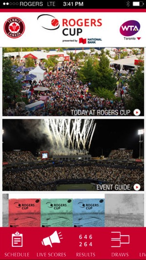 Rogers cup ios