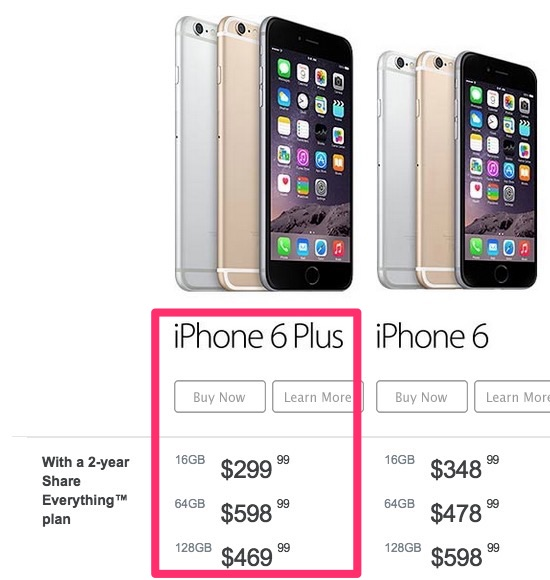 iphone 6 price without contract rogers and bell 16gb iphone 6 plus to 299 on 17582