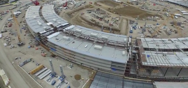Drone Footage Teases Apple Campus 2 Construction Update [VIDEO]