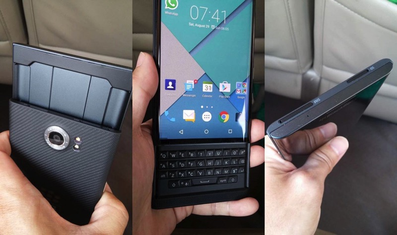 BlackBerry Announces 'Priv' Android Slider Phone Coming for the Holidays