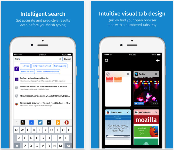 Firefox for iOS is Now Available to Download from the