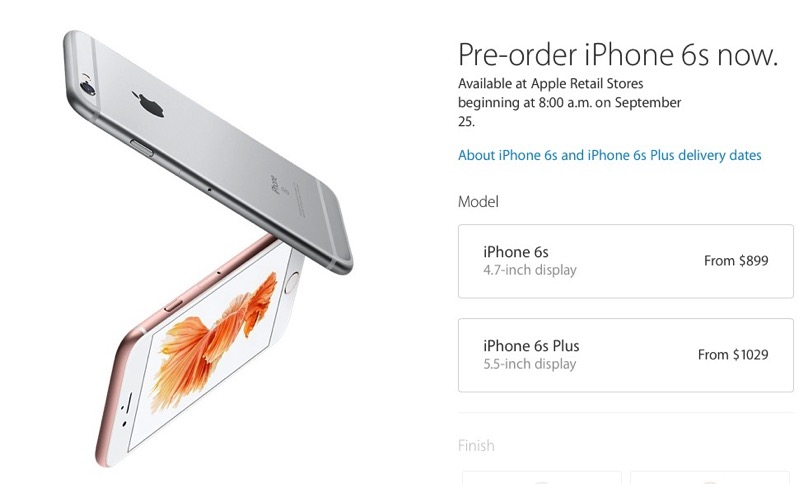 iphone pre order poll what iphone 6s or iphone 6s plus model did you pre 3264