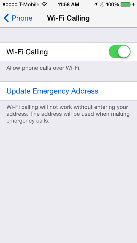 wifi phone calls iphone how to setup rogers fido wi fi calling on iphone in ios 9 16508