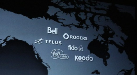 Rogers telus bell