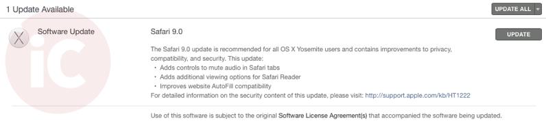 Safari 9 download