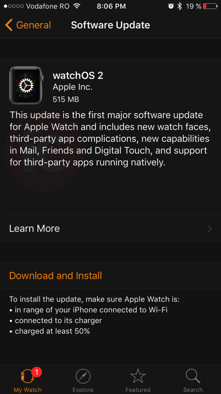 Watchos 2 download
