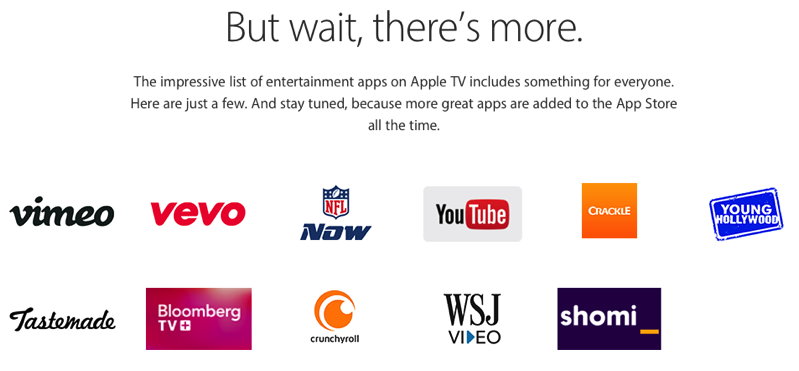 The New Apple TV in Canada Will Have These Default Apps