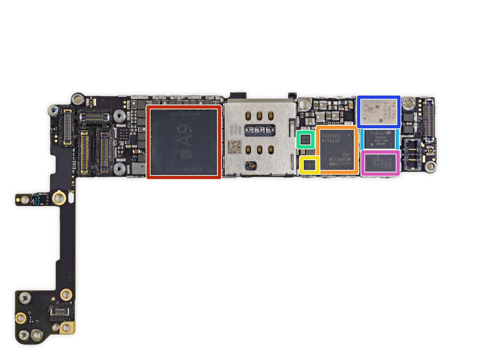 iphone 6s logic board