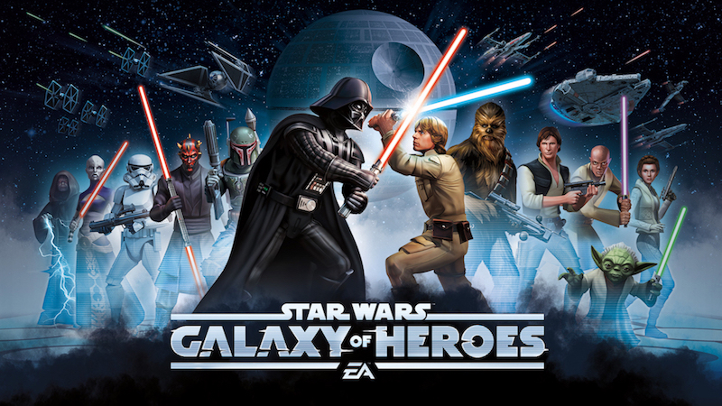 2414386 STAR WARS GALAXY OF HEROES NOW AVAILABLE FOR MOBILE FROM EA